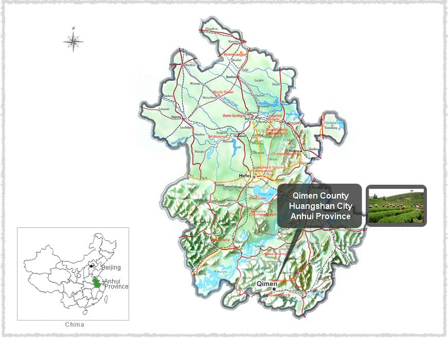 Map of Qimen