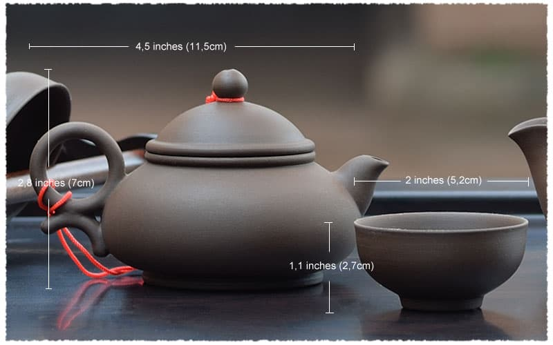 Economical Yixing Purple Clay Teapot body